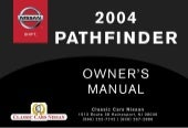 2004 PATHFINDER OWNER'S MANUAL