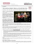 StevensViews Radio Press Release-20040129