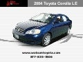 Boston – Used 2004 Toyota Corolla LE