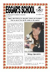 December 2006 School Newsletter
