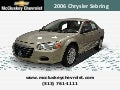 Used 2006 Chrysler Sebring Sedan at Cincinnati & Hamilton, Ohio