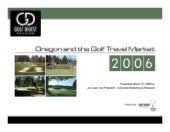 2006_Oregon_Golf_Travel_Market_Pres