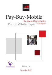gsma - pay-buy - business opportunt...