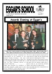 July 2007 School Newsletter