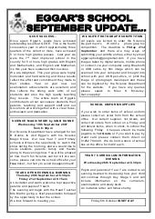 September 2007 School Newsletter