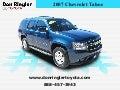 Used 2007 Chevrolet Tahoe – Don Ringler Toyota Dealer Temple, Texas