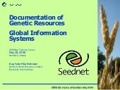 Global Information Systems for Plan...