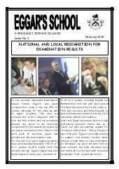 February 2008 School Newsletter