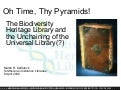 Oh Time, Thy Pyramids! The Biodiversity Heritage Library and the Unchaining of the Universal Library(?)