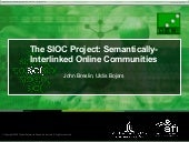 The SIOC Project