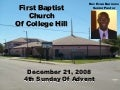 FBCCH Announcement Slideshow - 2008 Dec 21