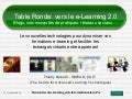 2008 Insead Table Ronde; Vers Le Elearning 2.0