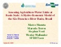 Assessing Agriculture-Water Links at Basin Scale: A Hydro-Economic Model of the São Francisco River Basin, Brazil