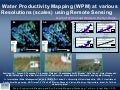 Water Productivity Mapping (WPM) at various Resolutions (scales) using Remote Sensing
