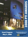 2008 PTI Awards Booklet