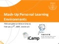Mash-Up Personal Learning Environments