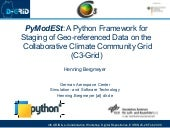 PyModESt: A Python Framework for S...