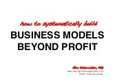 Business Models Beyond Profit - Soc...