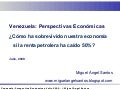 2009-07-30 - Venezuelan Macroeconomic Outlook