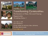 Transforming Communities: The Dynam...