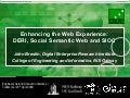 Enhancing the Web Experience