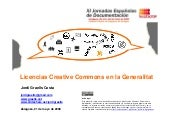 Las licencias Creative Commons en l...