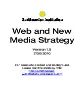 Smithsonian Web and New Media Strat...