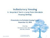 Parkdale Affordable Housing Forum P...