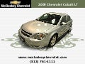 Used 2009 Chevrolet Cobalt LT w/2LT Sedan at your Chevy Cincinnati Ohio Dealer
