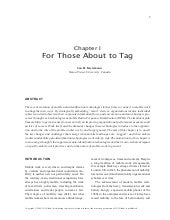 For those about to tag: mobile and ...