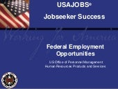 USAJobs.com: Pursuing Employment Op...