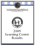 Learning Center Results 2009