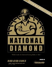 Diamond Tool Catalog