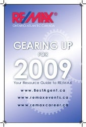 2009 Remax Overview