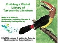 Building a Global Library of Taxonomic Literature