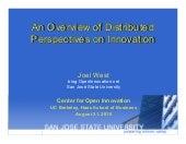Distributed Perspectives on Innovat...