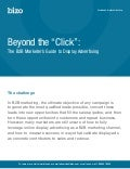 2010.09 Beyond the Click - the B2B Marketer's Guide to Display Advertising