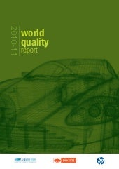 2010-11 World Quality Report