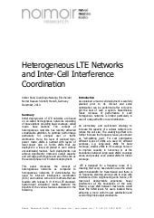 Heterogeneous LTE Networks and Inte...