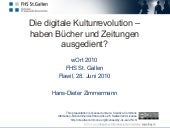 Die digitale Kulturrevolution – hab...