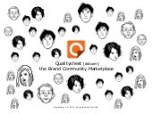 Qualitysheet, the brand community m...