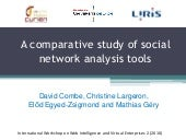 A comparative study of social netwo...