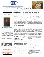 Viewpoint Newsletter for October 2010