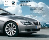 2010 BMW 650i Convertible Los Angeles