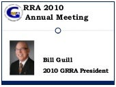 2010 Annual Meeting Presentation