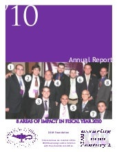 2010 Foundation Annual Report