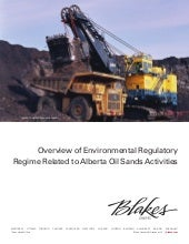 Blakes Overview of Environmental Re...