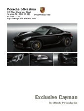 2010 Porsche Cayman Porsche of Nash...