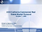 2010 Commercial Real EstateForecast