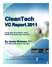CleanTech Business Report 2011